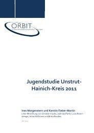 Jugendstudie Unstrut-Hainich-Kreis 2011 - Orbit-jena.de