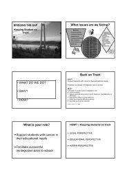 Print version - CHERI - The Children's Hospital Education Research ...
