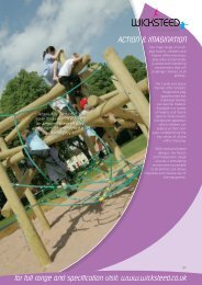 for full range and specification visit: www.wicksteed.co.uk ACTION ...