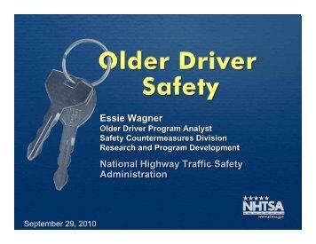 Essie Wagner Essie Wagner National Highway Traffic Safety ...