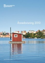 Årsredovisning 2010, pdf 2 MB - Karlskrona kommun