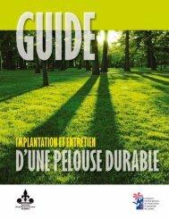 Guide – Rénovation de la pelouse durable - Fédération ...