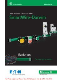 SmartWire-Darwin: The easy way to connect.  - Klockner Moeller Parts
