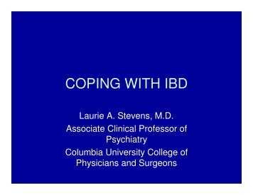 COPING WITH IBD
