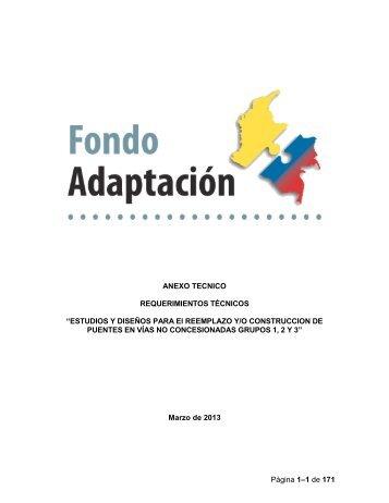 Anexo Técnico - Fondo Adaptación