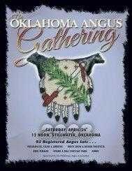 Saturday, april 26 12 noon, stillwater, oklahoma - Angus Journal