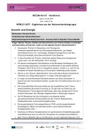 Umwelt und Energie - Regional Cooperation Management HU-AT