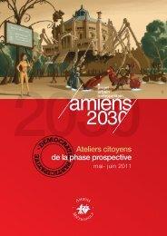 Ateliers citoyens de la phase prospective - Amiens