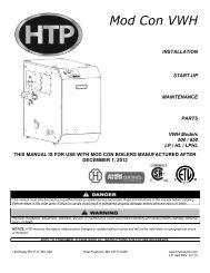 Rev. 3 Installation Manual - Heat Transfer Products, Inc