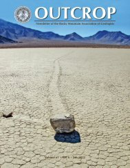 July 2012 - Rocky Mountain Association of Geologists