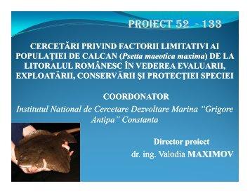 Institutul National de Cercetare Dezvoltare Marina Grigore Antipa