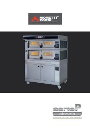 electric bakery deck ovens
