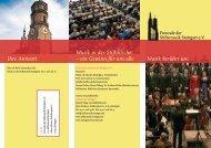 Musik in der Stiftskirche - Stiftskirche Stuttgart
