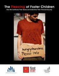 The Fleecing of Foster Children - Children's Advocacy Institute