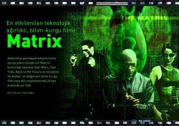 Sinema Anketi:Bilişimcinin ilk 5 bilim kurgu filmi - Bilişim Dergisi