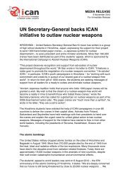 UN Secretary-General backs ICAN initiative to outlaw nuclear ...