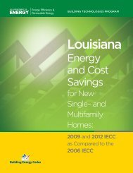 Louisiana - Building Energy Codes