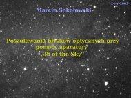 Marcin Sokołowski - Pi of the Sky
