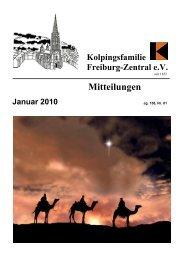Mitteilungen Januar 2010 - kolping-freiburg-zentral.de