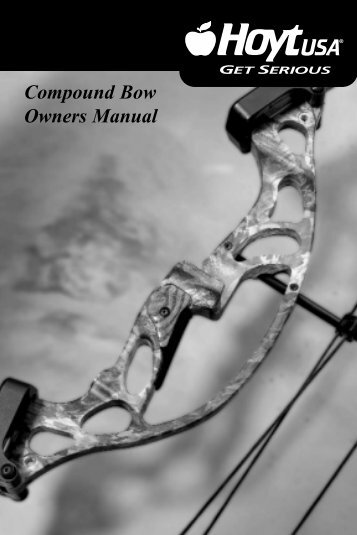 Compound Bow Owners Manual