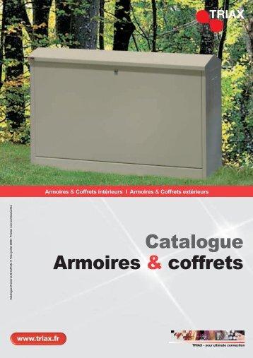 Catalogue Armoires & coffrets - Triax
