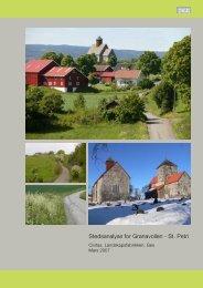 Stedsanalyse for Granavollen - St. Petri - Gran kommune