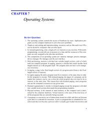 CHAPTER 7 Operating Systems