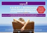 EGIPAT • HURGADA - Wayout