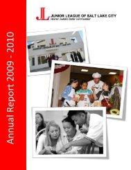 Annual Report 2009-2010 - Junior League of Salt Lake City