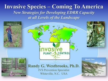 Prevention and Early Detection of Invasive species - Invasive Plant ...