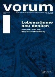 Lebensräume neu denken - Vorarlberg