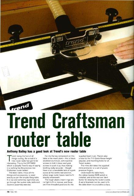 Trend Craftsman