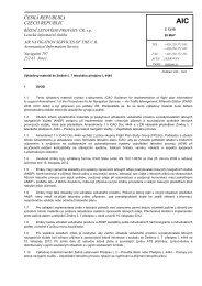 C 13/10 - Letecká informační služba - Řízení letového provozu