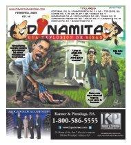 Febrero, 2013 Ed. 16 Titulares - Dinamita Magazine