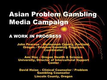 Asian Problem Gambling Media Campaign