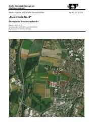 Ökologischer Erläuterungsbericht - Stadt Weingarten