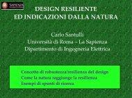 design resiliente ed indicazioni dalla natura - carlo santulli home page
