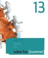 Uden for nummer 13 - Dansk Socialrådgiverforening