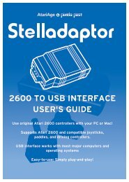 Stelladaptor 2600-to-USB Interface User's Guide - Grand Idea Studio