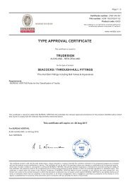 TYPE APPROVAL CERTIFICATE - Seatronic