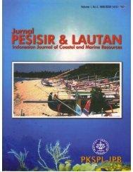 Pesisir & Lautan Vol. 1, No. 2, 1998 - Coastal Resources Center at ...
