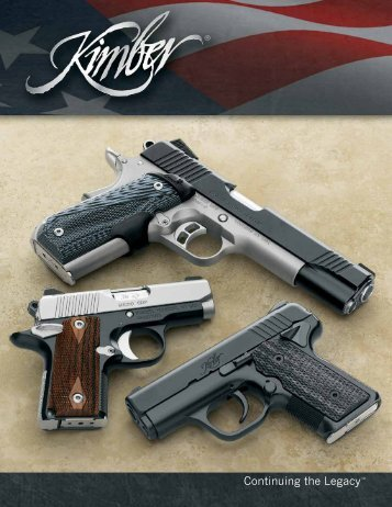 2013 Product Catalog - Kimber