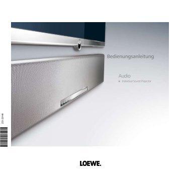 Bedienungsanleitung Audio - Loewe