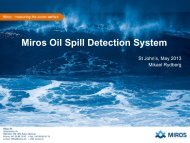 Oil Spill Detection - NEIA