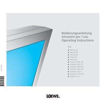 Betriebsarten - Loewe
