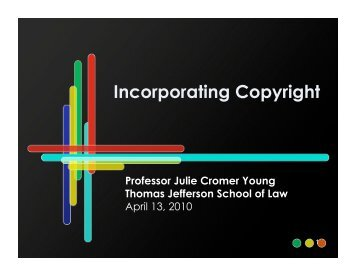 to View Julie Cromer Young's Presentation