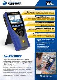 LanXPLORER - Ideal Industries