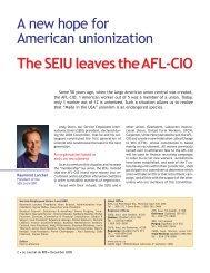 December 2005 - Union des employés et employées de service ...