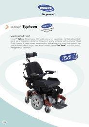 Invacare® Typhoon - Ortopedia Paoletti