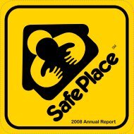 2008 Annual Report - National Safe Place